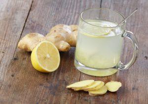 zencefil limon çayı 300x212 Çocuklarda Bademcik İltihabı